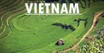 Vietnam Travel / Get inspired what to see, do and travel to in Vietnam!