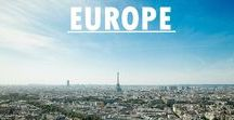 Europe Travel / See what amazing things you can see and do in Europe!! Go explore together!