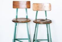 Furniture & Antiques: Rustic & Industrial / by Cecilia Richey