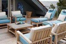 DESIGN: Outdoor Living Space / Whether for entertaining or private relaxation, make your home's exterior an inviting space.