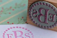 { prep + monograms } / by Kathryn Cole