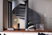 DESIGN: Stairs / Stairs are sometimes the most intriguing feature of the building.     #Stairs #Staircases #Stairwells #Design #Building_Design #Home_Design #Interior_Design #Architecture #Home_Decor