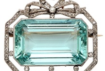 Aquamarine... / For all the March babies... / by Monique Bonfiglio Doughty