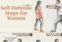 Safety-Self Defense-Emergency Tips / by Louise and John Birdsell