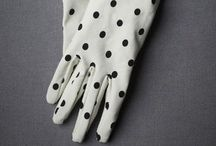ACCESSORIES: Gloves / Assorted handwear...some fancy, some functional.