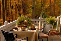 Yard♥Deck♥Patio / Great decks and/or patios and the decor for them