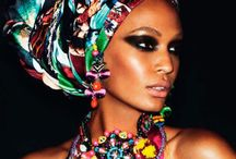 ACCESSORIES: Headwraps / Whether ethnic, religious, or simply for fashion, scarves and headwraps are a gorgeous way to add texture and pattern to your wardrobe.