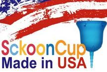 SckoonCup; the softest and most advanced menstrual cup / SckoonCup is a menstrual cup with advanced molding technology and design. Smooth outer curve without any bumps, easy to clean suction holes for maximum capacity and comfort. Along with a squishy soft cup and super flexible stem...all for your ultimate comfort. Find out more at how SckoonCup is different from other menstrual cups (www.SckoonCup.com)
