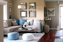 Home: Living rooms / by Nancy Lago