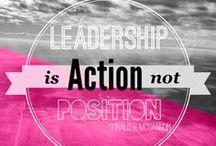 INSPIRATION // Leadership