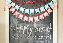 {Chalkboards} / by Michelle Mills