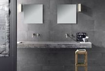 CONCRETE / Concrete is the perfect material and it's been covered up for too long. Polished or natural, coloured or grey it is warm in winter and cool in summer and brings a modern look to any  interior