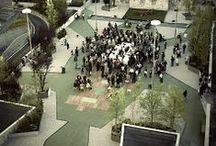 Temporary public spaces
