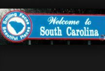 """50 STATES: South Carolina / A tribute to my grandparents' home state. (I consider my father a """"Jersey boy,"""" but his parents were from South Carolina.)"""
