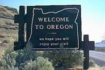 50 STATES: Oregon / by Lateefah Brown