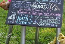 Chalk Boards! / by Lindsay Hill