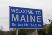 50 STATES: Maine / by Lateefah Brown