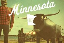 50 STATES: Minnesota / by Lateefah Brown