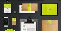 Inspiring brand identities / inspiring, brand, brand identity, business cards, letterheads, envelopes
