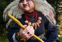 Баба Яга - Авторская кукла