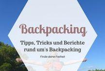 REISETIPPS | Backpacking / Eine Pinnwand rund um das Thema Backpacking: Backpacking Tipps, Empfehlungen, Erfahrungsberichte rund ums Backpacking. Welcher Backpack eignet sich, wie lernt man Leute beim Backpacking kennen, Backpacking in Südostasien und vieles mehr.