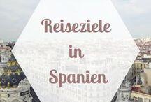 REISEZIELE Europa | Spanien / Viele Spanien Tipps, Spanien Reiseberichte und Spanien Empfehlungen für die schönsten Städte und Orte bei einer Spanien Reise.