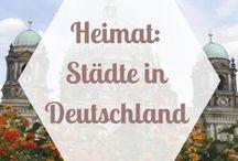 HEIMAT | Deutschland - Städte / Reisen ist meine größte Leidenschaft, aber ich liebe auch meine Heimat. Deutschland hat unheimlich viele tolle Städte zu bieten, die wir zu selten beachten. Hier findet ihr Tipps zu Hamburg, Berlin, Leipzig, Dresden und vielen deutschen Städten mehr.