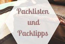 REISETIPPS | Packlisten und Packtricks / Hier findest du Tipps rund um's Packen. Du suchst eine gute Packliste für dein nächstes Reiseziel? Du willst wissen, was du für Indonesien einpacken sollst oder ob eine Regenjacke für Irland nützlich ist? Backpacking Packlisten und Packtricks findest du hier.