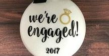 Wedding Party Gifts / Engagement Announcement