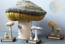 gnomes/fairies/mushrooms / by Happy Go Lucky Creations