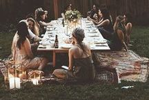 ★ table scapes. picnics. gatherings ★
