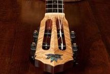 Guitar Art, Ukulele Art and so much more / Guitar Art, Ukulele Art, stunning musical instruments and more