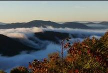 Blue Ridge Mountains and beyond