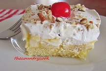 ~Desserts~ Sweet Treats / all recipes sweet / by Scarlett (Denise McHugh)