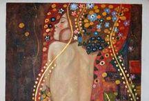 Frescos, mosaicos, pintura