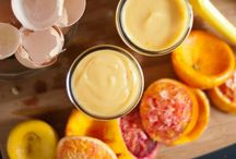 Fruit Curd & Butters / Lemon curd, pumpkin butter, etc
