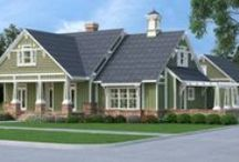Southern Style House Plans / If you're looking for classic southern designs that combine charm, elegance and historic flair, we present our Southern House Plan Collection. These homes range from simple cottages to stately estate homes. http://www.dfdhouseplans.com/plans/southern_house_plans/ / by DFD House Plans