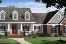 Ranch Home Plans & Designs / Here are a few of our most popular ranch designs and floor plans. Browse our full collection of ranch house plans at http://www.dfdhouseplans.com/plans/ranch_house_plans/ / by DFD House Plans