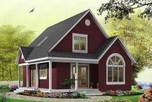 Narrow Lot Homes - Perfect for Urban Lots / Check our out extensive collection of narrow lot house plans, perfect for urban lots. These well-designed homes come in a wide range of sizes to meet your family needs. Explore are one and two-story models. http://www.dfdhouseplans.com/plans/narrow_lot_house_plans/ / by DFD House Plans