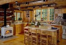 Log House Plans / If you're looking for an authentic log house plan, you've come to the right website. Whether your dream is a small log vacation getaway or sprawling luxury home, DFDhouseplans.com has a wide range of styles and sizes to take advantage of the great outdoors. http://www.dfdhouseplans.com/plans/log_house_plans/ / by DFD House Plans