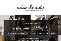 Re-Live Your Wedding Day Competition / Calling all beautiful brides - we are giving you the chance to Re-live your Wedding Day! To enter, simply post a pic of your wedding day hair and makeup via bit.ly/1Pqy6W5 and be in the running to WIN an all-expenses-paid trip for two to Sydney. The lucky winner will be chosen by none other than the fabulous Diane Khoury herself. Good luck!