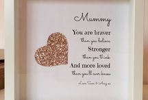 Gifts For Mum's / Our beautiful selection of unique personalised gifts to treat your amazing Mum! Ideal for Birthdays & especially Mother's Day.