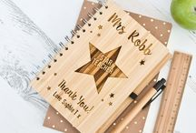 Personalised Teacher Gifts / At the end of term it's always nice to give something back to a fantastic teacher! They work hard all year & help our children grow & learn. Here's our range of thoughtful & unique personalised teacher gifts to treat top teachers!