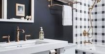 Bathroom Decor / Find inspiration for your dream bathroom! In Bathroom Decor you'll find ideas for your small, master, guest, and kids bathrooms alike. Turn your bathroom into elegant spa like retreat with simple DIY ideas you can do, even on a budget! You'll find tips on choosing colors, decorating walls, and more! Whether you like farmhouse, modern, shabby chic, or country themes, this board is sure to inspire! And for more decor tips and ideas, click the link in our profile to check out The Modern Nest blog!