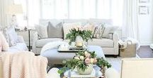 Living Room Decor / Find inspiration to turn your living room into a cozy retreat! In Living Room Decor you'll find ideas for different tastes such as french country, rustic, modern, contemporary, and farmhouse styles. Whether you are looking for a simple update with DIY ideas on a budget or want to give your whole space an elegant makeover, you'll find tips for everything from choosing wall colors to complete remodels! And for more decor ideas, check out The Modern Nest blog!