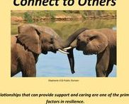 Connect with Others / Relationships that can provide support and caring are one of the primary factors in resilience.