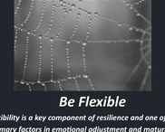 Flexibility / Flexibility is a key component of resilience and one of the primary factors in emotional adjustment and maturit.y