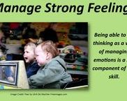 Manage Feelings / Being able to use thinking as a way of managing emotions is a key component of this skill.