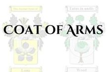 coat of arms / Here are some of the Coat of Arms & Family Crests we offer on our site. For more information or to check if we have your surname head over to our site: https://www.houseofnames.com/