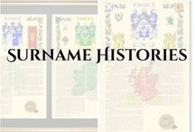 surname histories / These products all offer history on your surname.